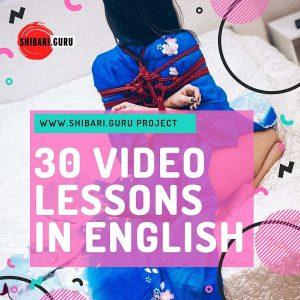 30 shibari video lessons in English