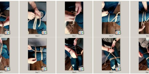 17 easy shibari exercises